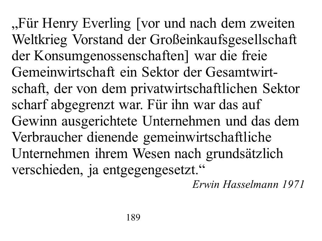 """""""Für Henry Everling [vor und nach dem zweiten"""